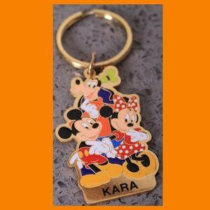 Mickey, Minnie, and Goofy Keychain - KARA